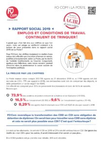Rapport social 2019