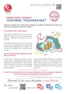 Prime vidéo codage